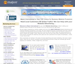Internet marketing and advertising from one of the most popular marketing and advertising companies on the internet!