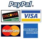Visa Mastercard American Express Discover