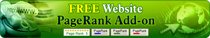Website Page Rank Add-on