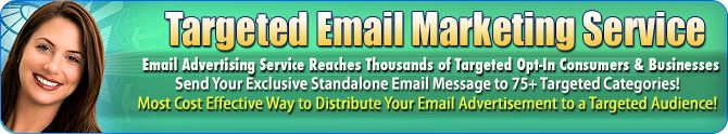 Targeted Email Marketing Service